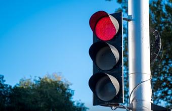 В Краснодаре временно отключат светофор на ул. Бородинской