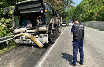 В Туапсе возбудили уголовное дело после ДТП с автобусами, в котором пострадали дети