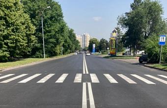 В Краснодаре подходы к пешеходным переходам по ул. им. Селезнева оборудуют для маломобильных жителей