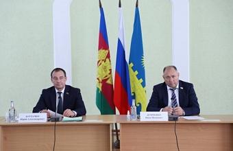Юрий Бурлачко и Иван Демченко отчитались о своей работе в Анапе