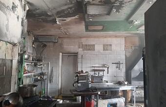 В Анапе из-за пожара в кафе пострадали два человека