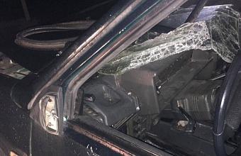 В Кореновске пьяный полицейский наехал на дорожных рабочих, один погиб