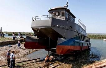 Научно-исследовательский борт «Черноморец» построило предприятие Приморско-Ахтарского района