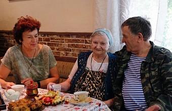 Благодаря краевой программе почти 300 пожилых жителей Кубани обрели приемную семью