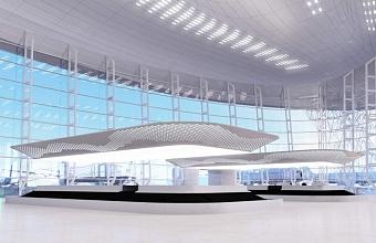 В новом терминале аэропорта Геленджик начат монтаж системы обработки багажа