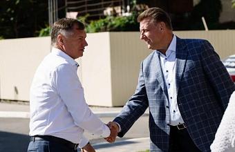 Вице-премьер правительства РФ Марат Хуснуллин посетил объекты  «Девелопмент-Юг»