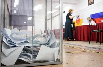 В Краснодаре завершился первый день голосования на выборах