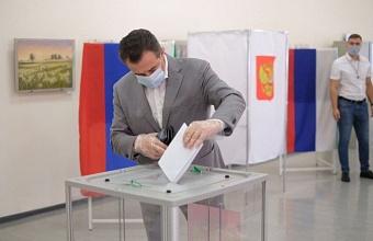 Ректор КГИК Сергей Зенгин принял участие в выборах