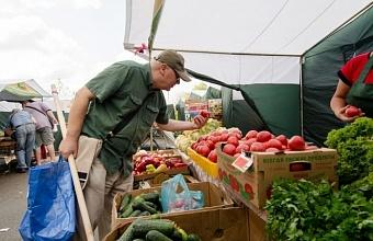 На ярмарки выходного дня в Краснодар привезли выше 50 тонн сельхозпродуктов
