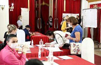 Явка на выборах в Краснодарском крае на 15:00 во второй день голосования составила 33,4%