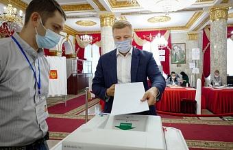 Вице-губернатор Кубани Игорь Чагаев принял участие в выборах