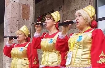 В Усть-Лабинском районе на избирательном участке организован концерт