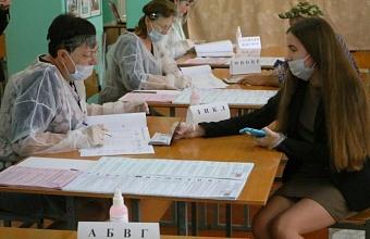 В Тбилисском районе девушка проголосовала на выборах в день своего 18-летия