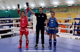 Юная спортсменка из Краснодара выиграла кубок края по тайскому боксу