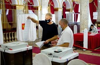 На 18:00 явка на выборах в Краснодарском крае составила почти 60%