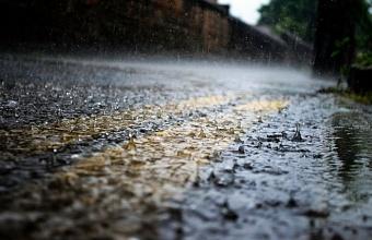 В Анапе и Новороссийске из-за сильных дождей подтопило несколько улиц