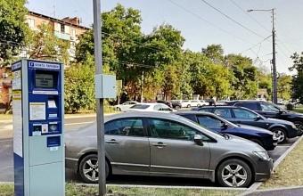 Евгений Первышов поручил наладить работу паркоматах на платных парковках Краснодара