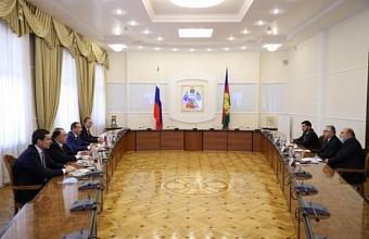 Председатель ЗСК встретился с Чрезвычайным и Полномочным Послом Кипра в РФ