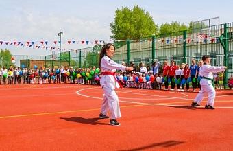 На Кубани с 2019 года по нацпроекту открыли 30 спортобъектов