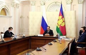Губернатор Кубани принимает участие в совещании Президента РФ по АПК