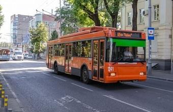 В Краснодаре 7 троллейбусных маршрутов продолжат работу в сокращенном режиме
