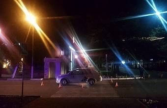 В Славянском районе водитель иномарки сбил двух 16-летних девушек на пешеходном переходе