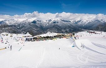 В горах Сочи построят самый большой в России сноупарк площадью 100 тыс. кв. метров