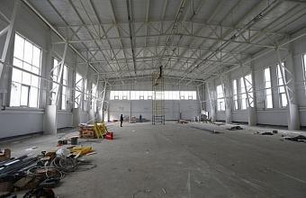 В станице Динской в декабре откроют новый спорткомплекс по госпрограмме