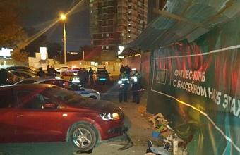 В Краснодаре иномарка сбила двух пенсионерок на тротуаре, одна погибла