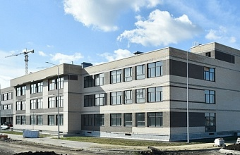 Новая школа на ул. Конгрессной в Краснодаре готова на 90%