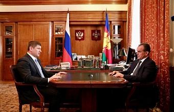 Кондратьев предложил Алексеенко участвовать в конкурсе на должность мэра Краснодара