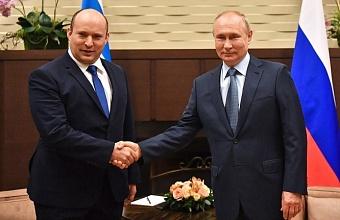 Встреча Путина с премьером Израиля в Сочи длилась 5 часов