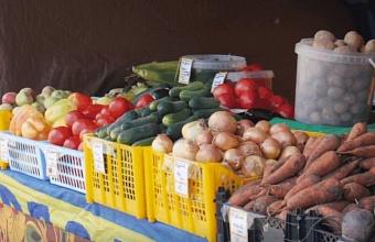 Фермеры привезли на ярмарки выходного дня в Краснодар 90 тонн сельхозпродуктов