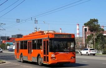 В Краснодаре 7 троллейбусов продолжат работу в сокращенном режиме