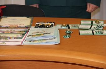 В Краснодарском таможне подвели итоги работы в честь юбилея службы
