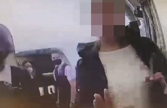 В аэропорту Анапы с рейса сняли пассажирку, укусившую бортпроводницу