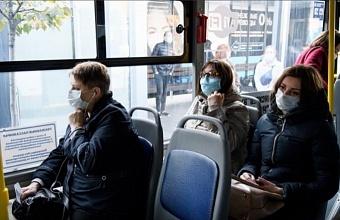 В Краснодаре участились проверки по соблюдению масочного режима в транспорте