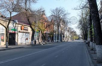 В период нерабочей недели ул. Красная в Краснодаре не будет пешеходной